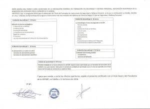 Diploma monitor intructor