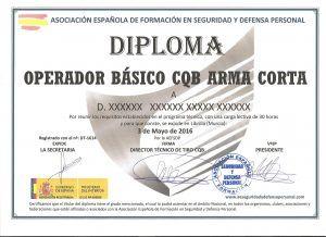 diploma operador basico