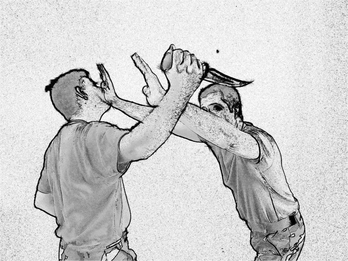 Sobrevivir a ataques de cuchillo. Entrenamiento SDP.