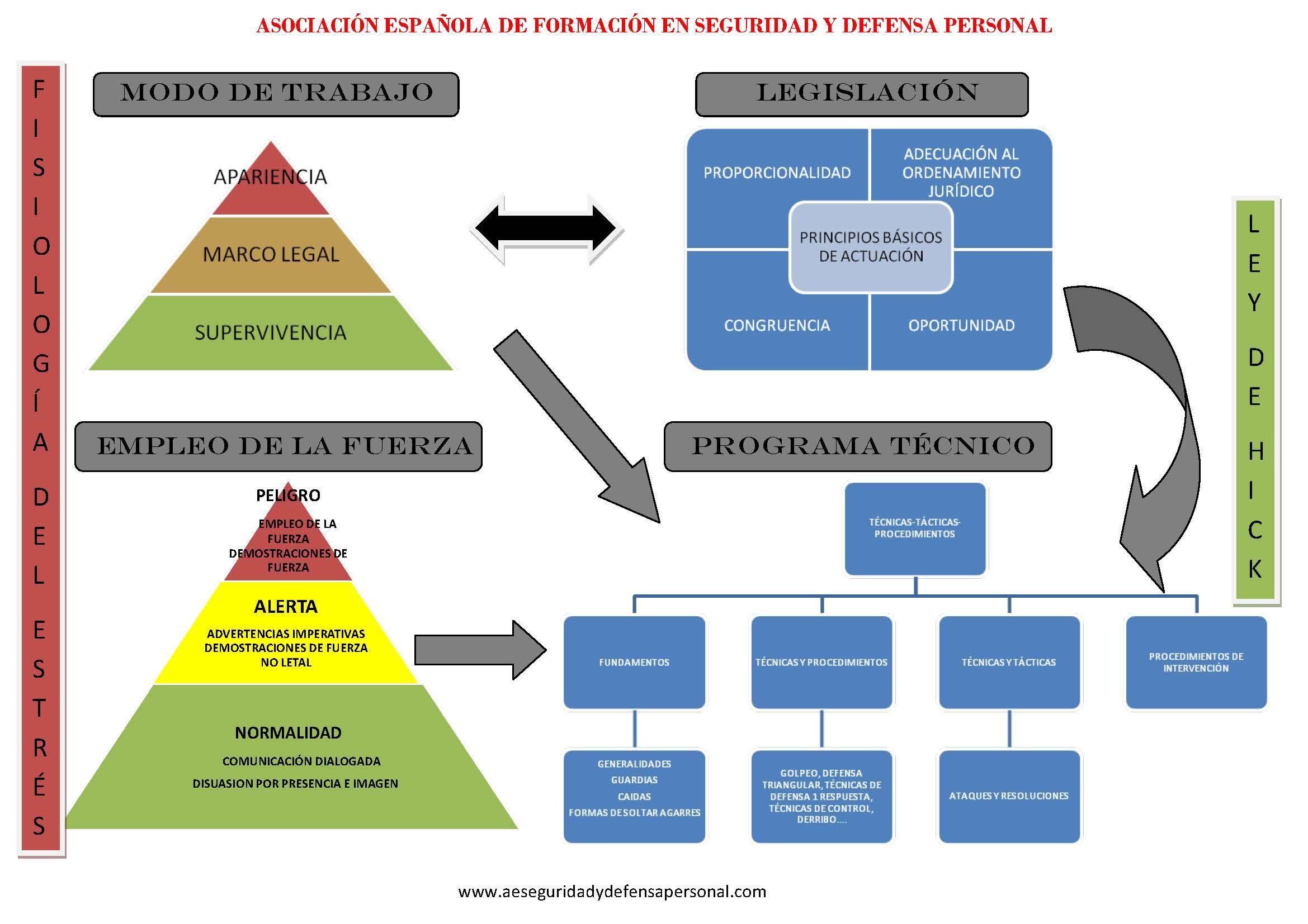 Seguridad y Defensa Personal, AEFSDP.