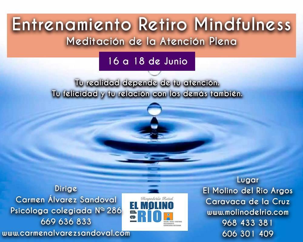 Curso Intensivo de Mindfulness. 16,17 y 18 de Junio en Murcia.