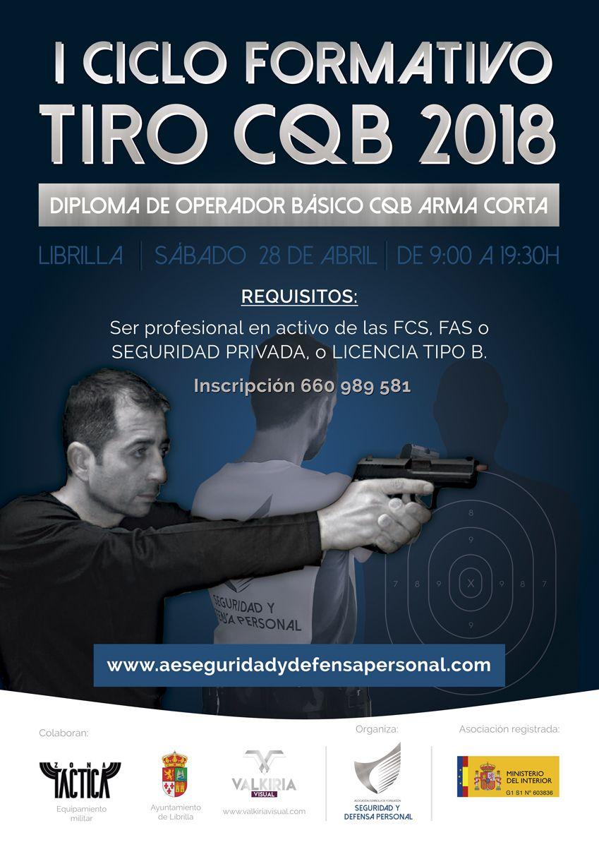I Ciclo Formativo de Operadores CQB 2018. Murcia.