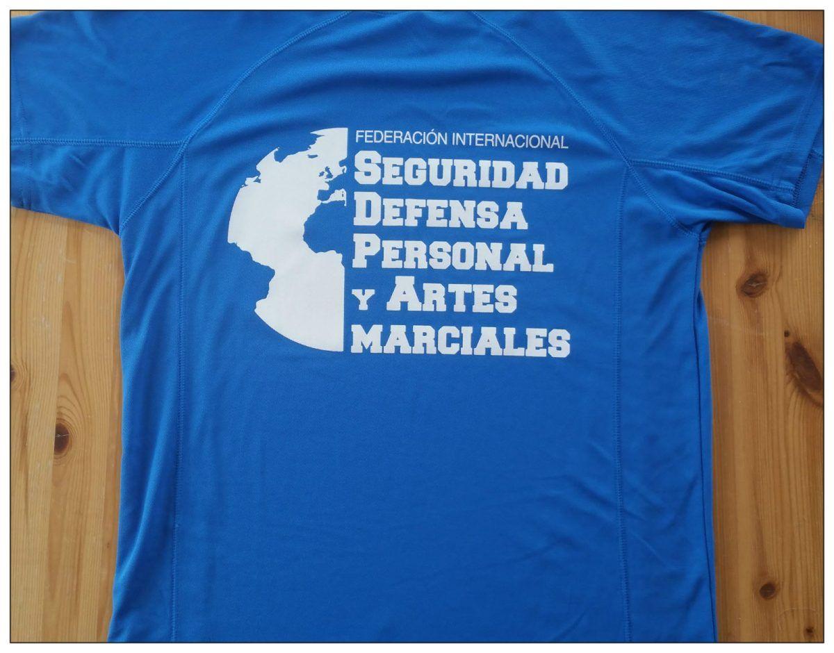 Camisetas oficiales de la FISDPAM