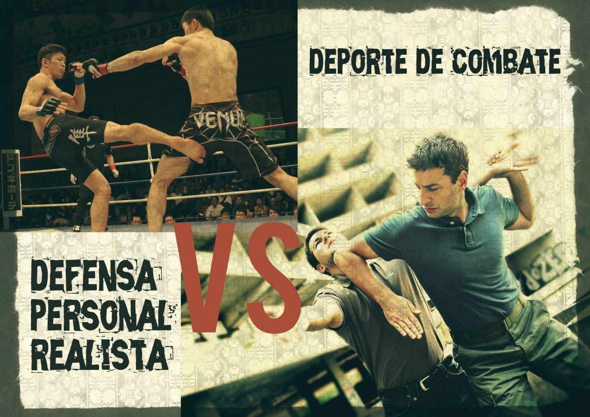 Competición Deportiva vs Defensa Personal Realista.