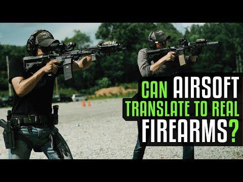 ¿Puede el entrenamiento con Airsoft transferirse al Tiro con fuego real?