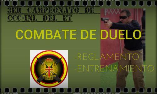CCC-INL Deportivo. Combate de duelo, como entrenarlo.